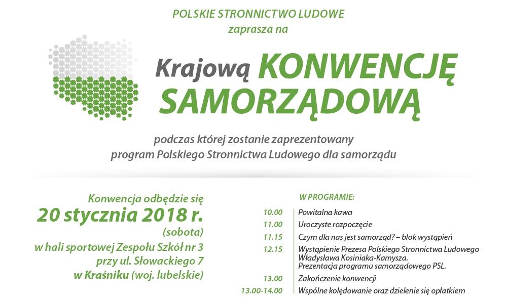 Plakat Konwencji